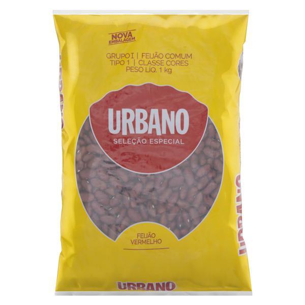 Feijão Vermelho Tipo 1 Urbano Pacote 1kg