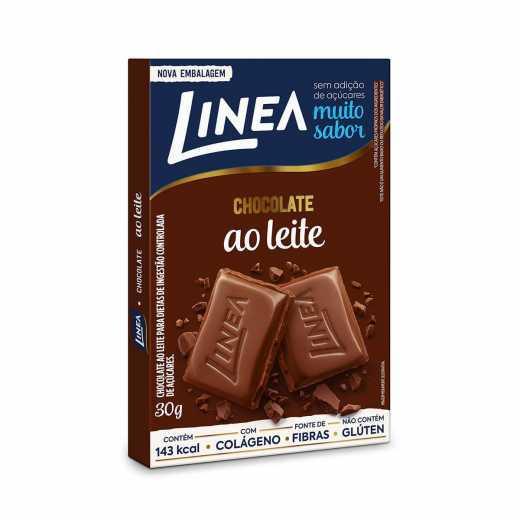 Chocolate Linea Ao Leite Zero Açúcar 30G