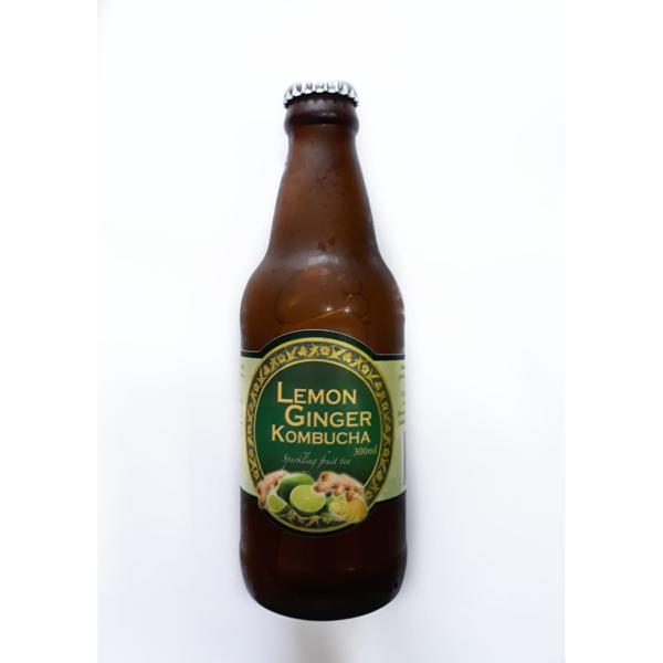 Kombucha Limão e Gengibre