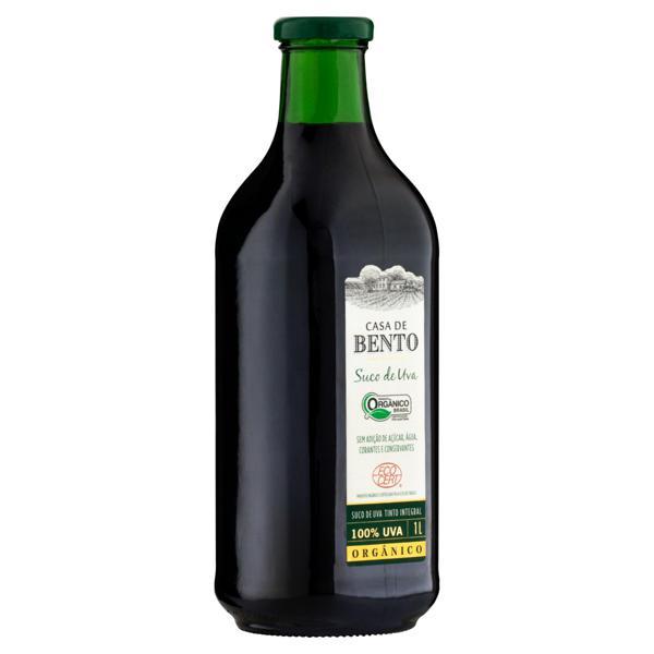 Suco de Uva Orgânico Garrafa 1L - CASA DE BENTO