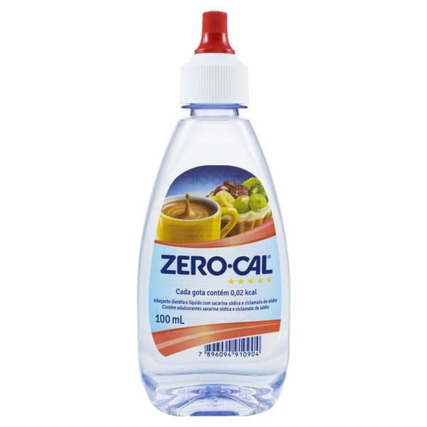 Adoçante Líquido Diet Sacarina Zero Cal 100ml