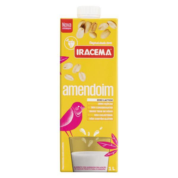 Bebida à Base de Amendoim Zero Açúcar Iracema Caixa 1l