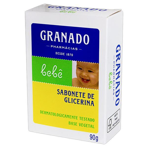 Sabonete em Barra de Glicerina Granado Bebê Caixa 90g