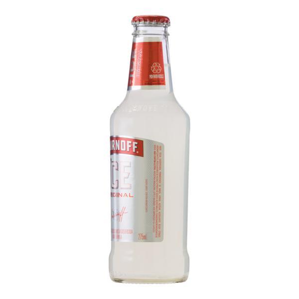 Bebida Mista Alcoólica Gaseificada Limão Smirnoff Ice Garrafa 275ml