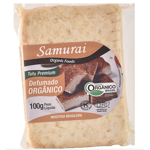 Tofu Defumado Orgânico 100g - Samurai