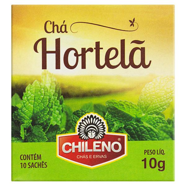 Chá de Hortelã Chileno Caixa 10g 10 saches