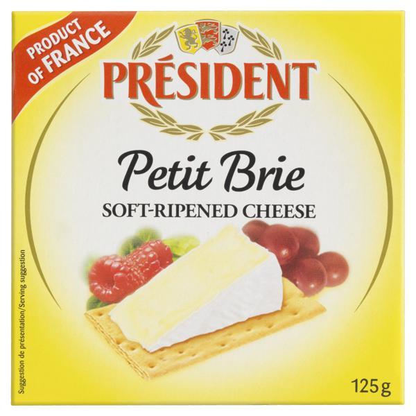 Queijo Brie Président 125g
