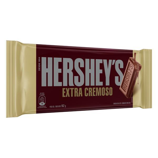 Chocolate ao Leite Extracremoso Hershey's Pacote 92g