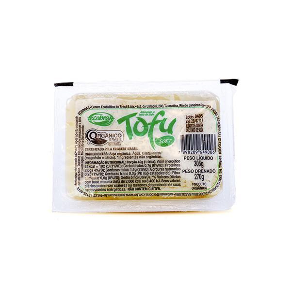 Tofu Macio Orgânico 270g - Ecobras