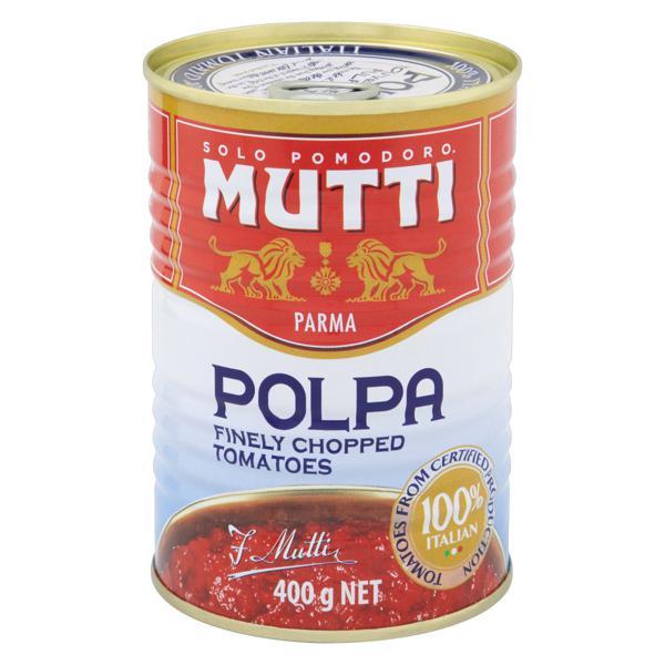Polpa de Tomate Mutti Lata 400g