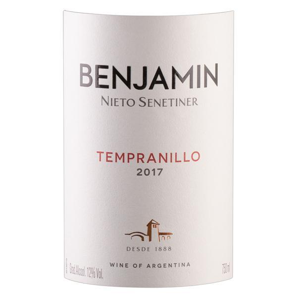 Vinho Argentino Tinto Seco Benjamin Nieto Senetiner Tempranillo Garrafa 750ml