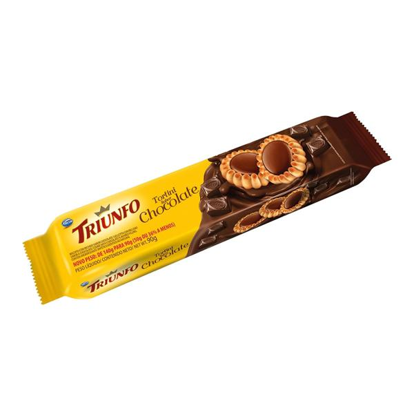 Biscoito Tortini TRIUNFO Torta Chocolate 90g
