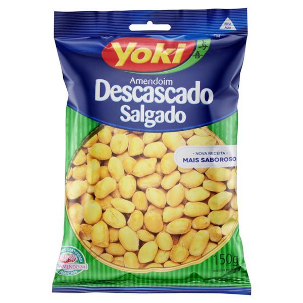 Amendoim Salgado Yoki Pacote 150g
