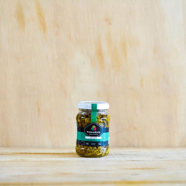 Jiló Seco em Conserva 130g - Frutessência
