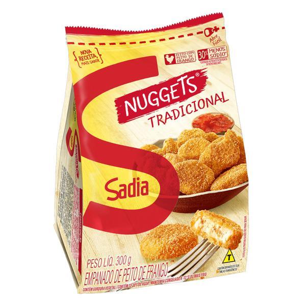 Empanado de Frango Tradicional Sadia Nuggets Pacote 300g