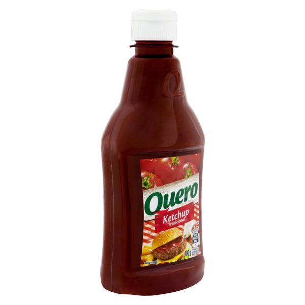 Ketchup Tradicional Quero Squeeze 400g