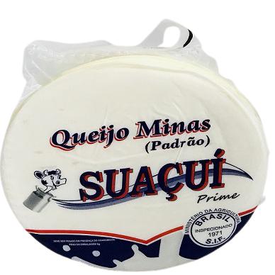 Queijo Minas Padrão Suaçuí (Peso médio unidade = 850g)