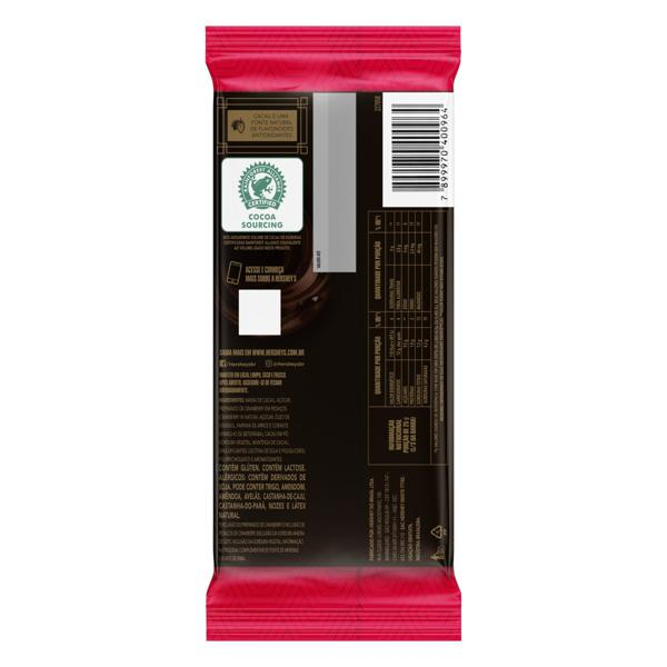 Chocolate Amargo 60% Cacau Cranberry Hershey's Special Dark Pacote 85g