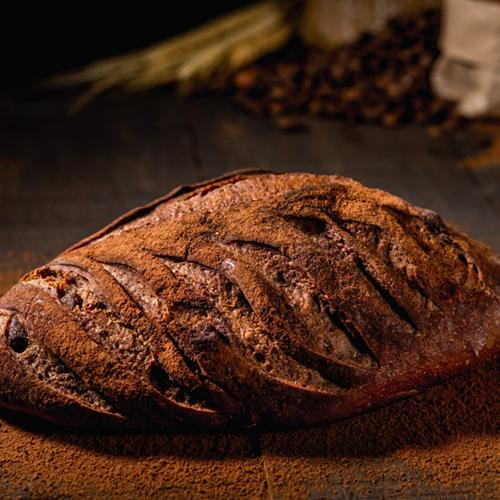 Pão de Café com Chocolate Belga (Levain)