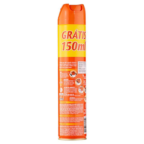 Multi-Inseticida Aerossol SBP Frasco 450ml Grátis 150ml