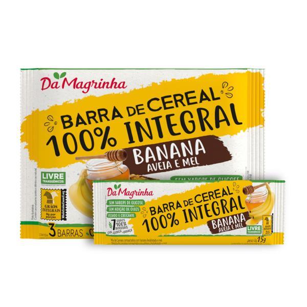 Barra Cereal Da Magrinha 45G Banana Aveia E Mel
