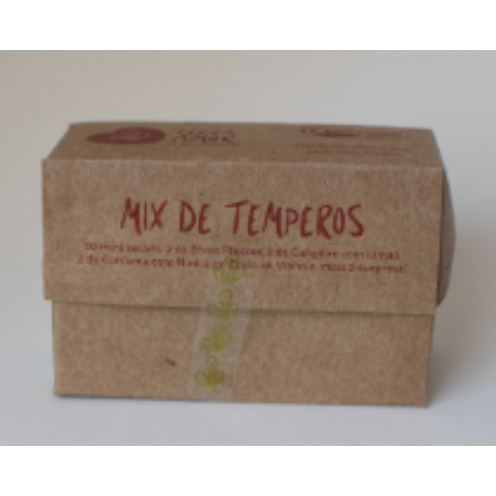 Mix de temperos 60g VENCIMENTO ABRIL