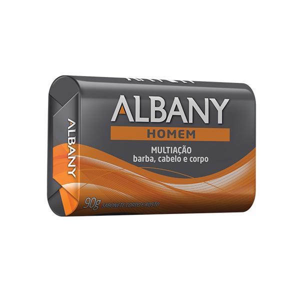 Sabonete ALBANY Suave Masculino Multiação 85g