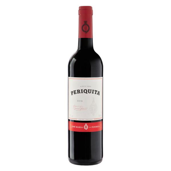 Vinho Português Tinto Seco Original Periquita Castelão Trincadeira Aragonez Península de Setúbal Garrafa 750ml