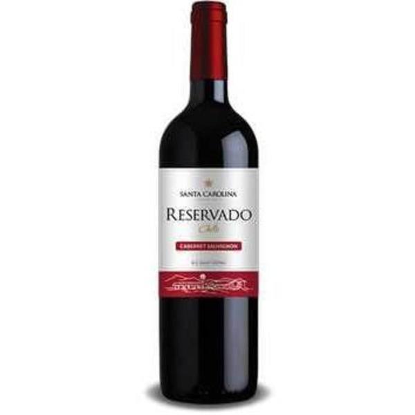Vinho Chileno SANTA CAROLINA Reservado Cab/Carm 750ml