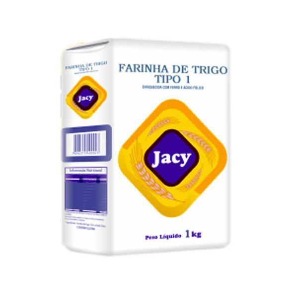 Farinha De Trigo Jacy 1Kg