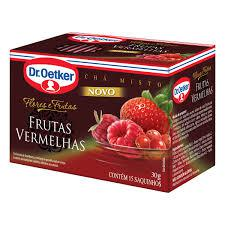 Chá DR OETKER Misto Frutas Vermelhas 15un 30g