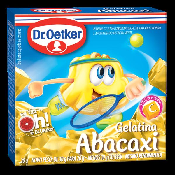 Gelatina de Abacaxi DR.OETKER 20g