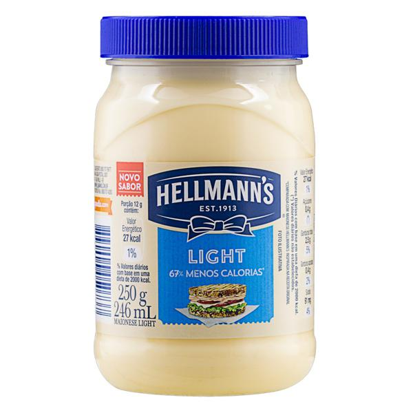 Maionese Light Hellmann's Pote 250g