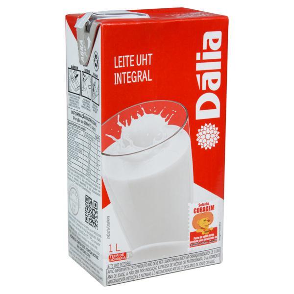 Leite UHT Integral Dália Caixa 1l