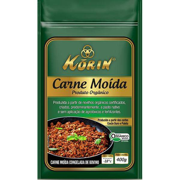 Carne moída orgânica 400g - Korin