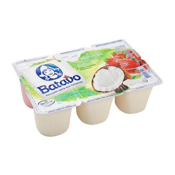 Iogurte Batavo 540G Morango e Coco