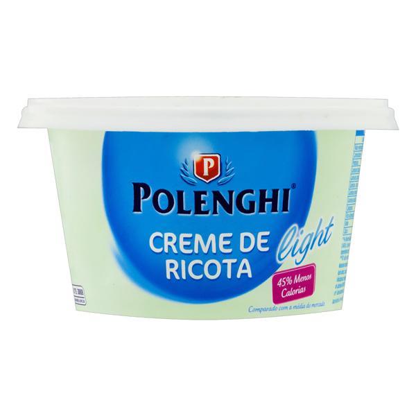 Creme de Queijo Ricota Light Polenghi Pote 150g