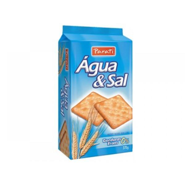 Biscoito PARATI Água e Sal 370g