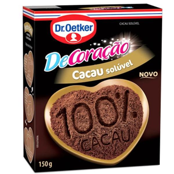 Chocolate Em Pó 100% Cacau Oetker 150G