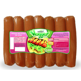 Salsicha de Soja Vegges 320g