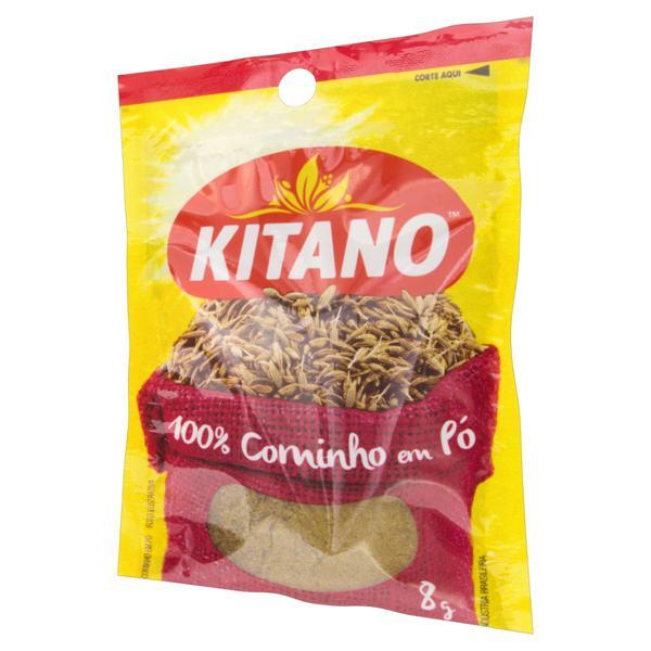 Cominho em Pó Kitano Pacote 8g