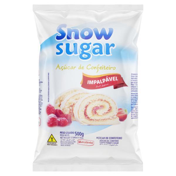 Açúcar Confeiteiro Snow Sugar Pacote 500g