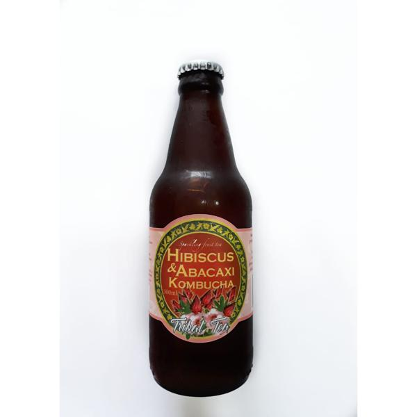 Kombucha Hibiscus & Abacaxi