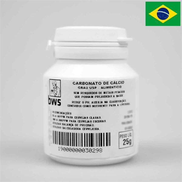 Carbonato de Cálcio U.S.P. 25g
