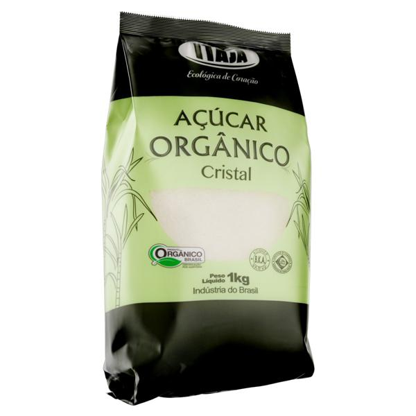 Açúcar Cristal Orgânico Itajá Pacote 1Kg