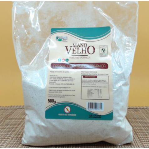 Farinha de mandioca orgânica - 500g