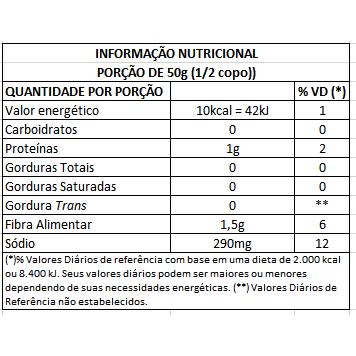 Palmito Açaí Orgânico Picado Imperador 500g