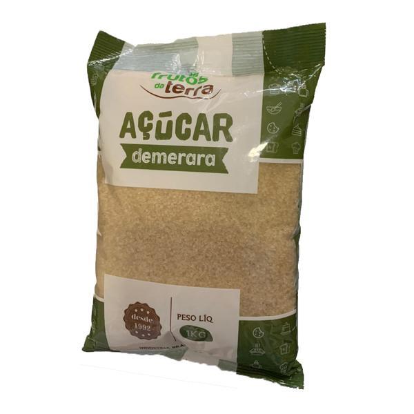 Açúcar Demerara FRUTOS DA TERRA 1kg