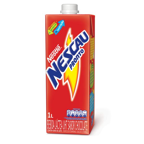 Bebida Lactea Nestle Nescau Chocolate 1L