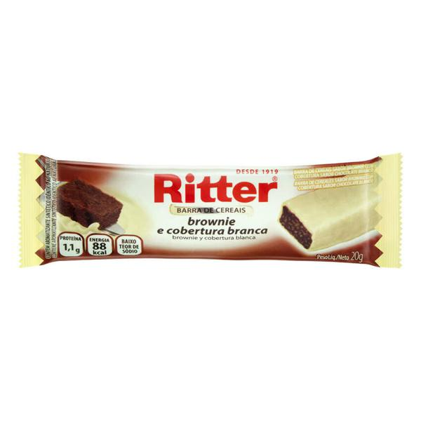 Barra Cereal Ritter 20G Brownie Cober Br